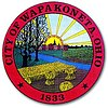 Official seal of City of Wapakoneta, Ohio
