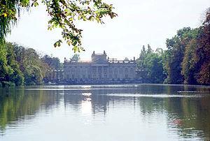 Palace on the Water, Łazienki Park.