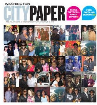Washington City Paper - Image: Washington City Paper (front page)