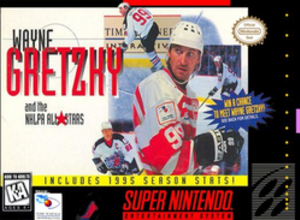 Wayne Gretzky and the NHLPA All-Stars - North American cover art