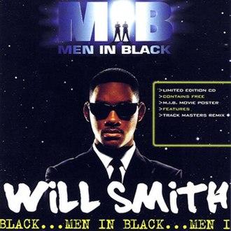 Men in Black (song) - Image: Will Smith Men In Black CD Single Cover