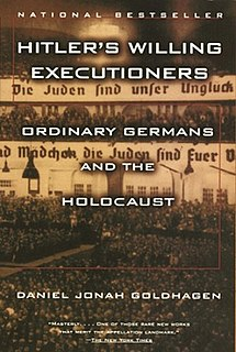 <i>Hitlers Willing Executioners</i> book by Daniel Goldhagen