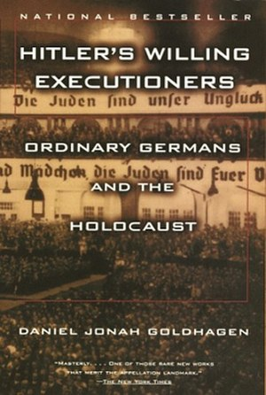 Hitler's Willing Executioners - Image: Willing Executioners by Daniel Goldhagen (cover)