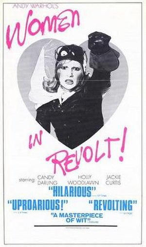 Women in Revolt - Promotional film poster