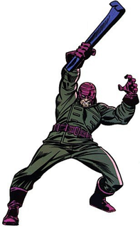 Wrecker (comics) Supervillain