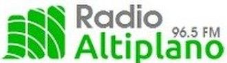 XHTLAX-FM - Image: XHTLAX Radio Altiplano 96.5 logo