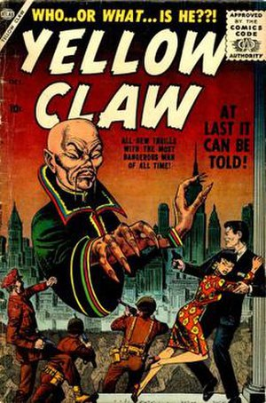 U.S. immigration policy toward the People's Republic of China - Marvel's Yellow Claw