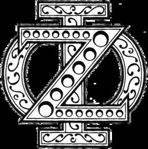 Zeta Phi - Image: Zeta Phi Badge