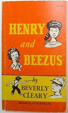 """Henry and Beezus"" book by Beverly Cleary, first edition cover.jpg"