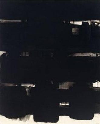 Pierre Soulages - 17 December 1966 by Pierre Soulages, Honolulu Museum of Art
