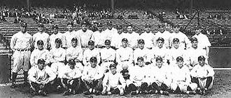 Murderers' Row - The 1927 New York Yankees.