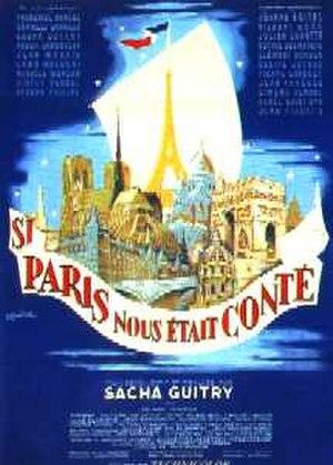 If Paris Were Told to Us - Image: 1956 Si Paris nous etait conte
