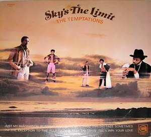 Sky's the Limit (The Temptations album) - Image: 1971 tepts sky
