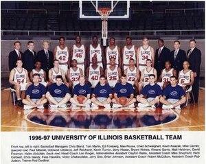 """1996–97 Illinois Fighting Illini men's basketball team - """"1996-97 Fighting Illini men's basketball team"""""""