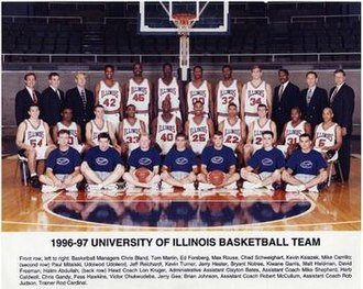 "1996–97 Illinois Fighting Illini men's basketball team - ""1996-97 Fighting Illini men's basketball team"""