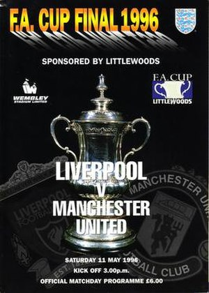 1996 FA Cup Final - Image: 1996 FA Cup Final programme