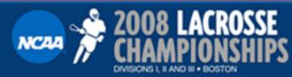 2008 NCAA Division I Men's Lacrosse Championship - Image: 2008NCAALax