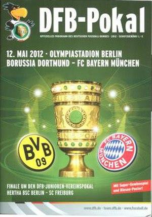2012 DFB-Pokal Final - Image: 2012 DFB Pokal Final programme