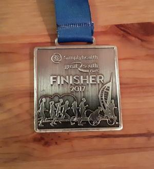 Great South Run - 2017 Finishers Great South Run medal