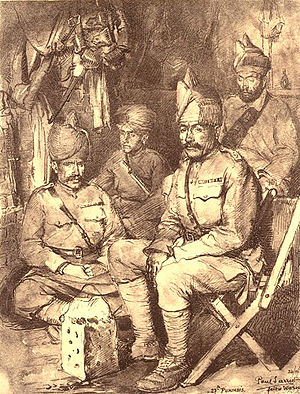 27th Punjabis - Image: 27th Punjabis (11 Punjab) France 1915