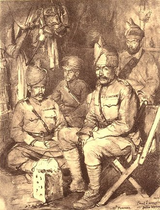 15th Punjab Regiment - Image: 27th Punjabis (11 Punjab) France 1915