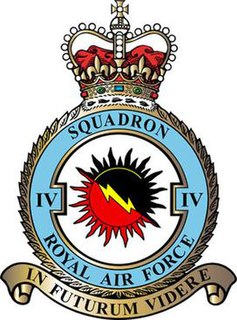 No. 4 Squadron RAF Flying squadron of the Royal Air Force