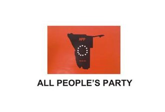 All People's Party (Namibia) - Image: ALL PEOPLE'S PARTY LOGO