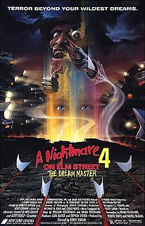<i>A Nightmare on Elm Street 4: The Dream Master</i> 1988 film by Renny Harlin