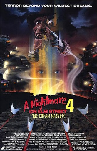 A Nightmare on Elm Street 4: The Dream Master - Theatrical release poster by Matthew Peak