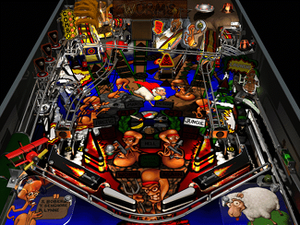 Addiction Pinball - Worms is the additional table included in Addiction Pinball.