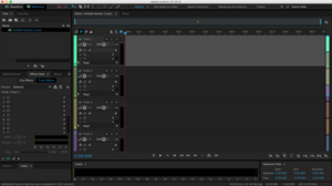 Adobe Audition CC, running on OS X El Capitan
