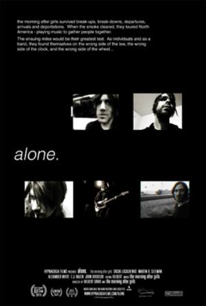 Alone in North America - Theatrical release one-sheet