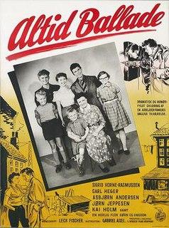 <i>Altid ballade</i> 1955 film by Gabriel Axel