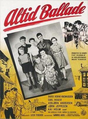 Altid ballade - Film poster