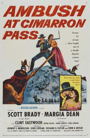 Ambush at Cimarron Pass - Movie poster