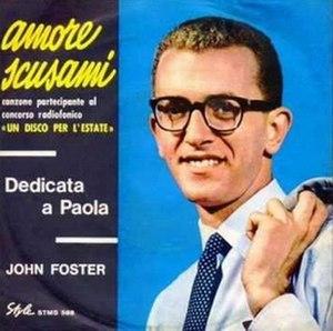 Amore scusami - Image: Amore scusami cover
