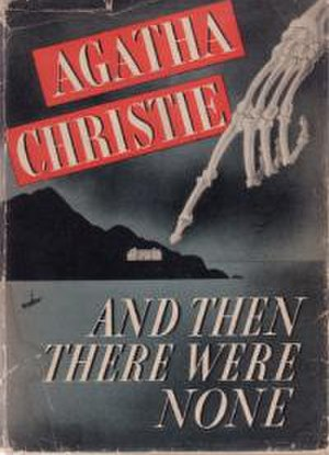 And Then There Were None - Cover of first US 1940 edition with current title for all English-language versions.