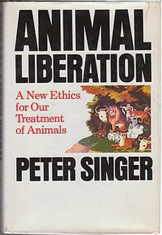Animal Liberation (book) - Cover of the first edition