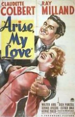 Arise, My Love - Theatrical release poster