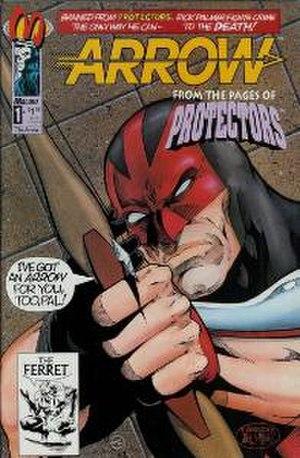 Arrow (comics) - Malibu Comics' version of the Arrow.