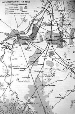 Operation Goodwood - Image: Atlantic Goodwood Battle plan