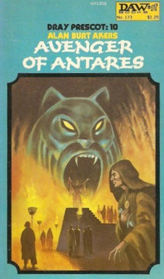 Avenger of Antares - First edition cover