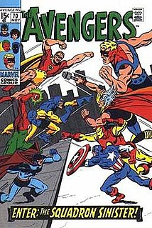 Squadron Sinister Fictional supervillain team