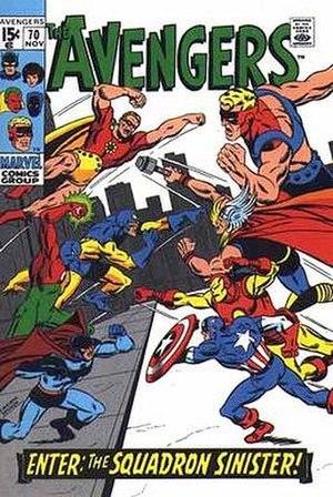 Squadron Sinister - Image: Avengers 70