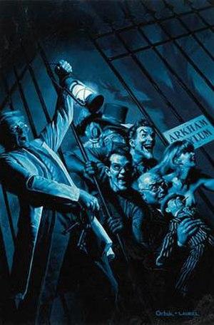 Arkham Asylum - Image: BATMAN SHADOW OF THE BAT 82