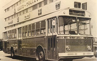 Biamax - One of the most successful models: Biamax F580 (1966 model, ladder-type Biamax chassis)