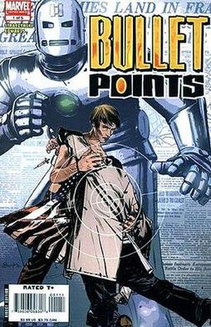 Bullet Points (comics) - Image: BP cover 01