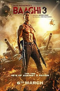<i>Baaghi 3</i> Indian action film directed by Ahmed Khan