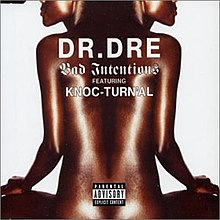 Dr. Dre featuring Knoc-turn'al — Bad Intentions (studio acapella)