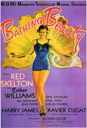 Bathing Beauty - 1944 US Theatrical Poster